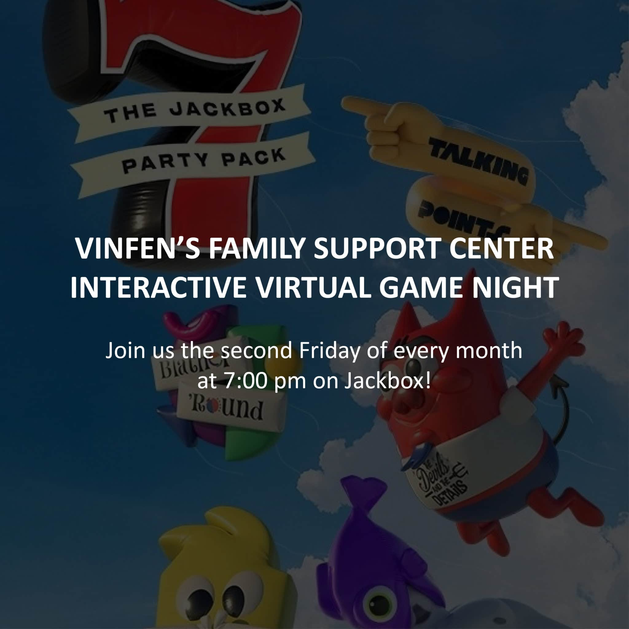 VInfen Family Support Center Game Night