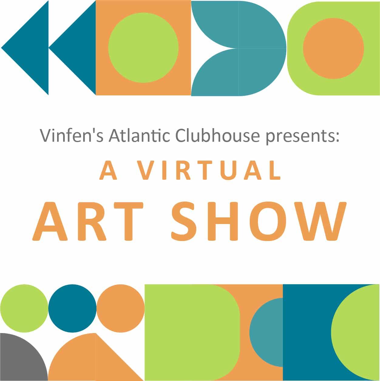 Vinfen Atlantic Clubhouse Art Show Event